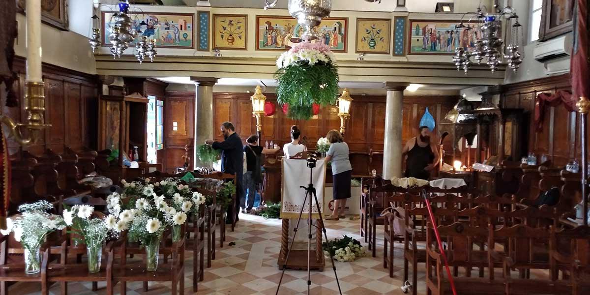 Photo of Η προετοιμάσια της πανηγύρεως του ναού μας