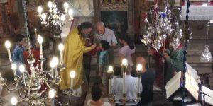 Στιγμές από την γιορτή της Παναγίας στον ναό μας!3