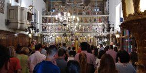 Στιγμές από την γιορτή της Παναγίας στον ναό μας!4