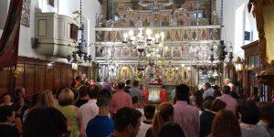 Στιγμές από την γιορτή της Παναγίας στον ναό μας!8