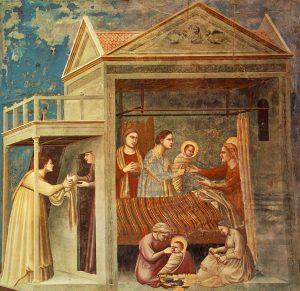 Giotto Scrovegni 07 The Birth Of The Virgin
