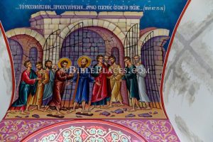 Painting Of Paul And Silas Free From Prison At Philippi Of St Lydia Chapel, Jc0106151309