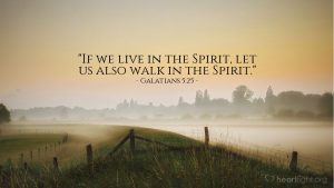 Live in spirit