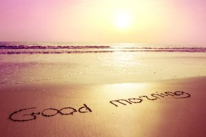 depositphotos 42510115 stock photo sunrisebeach and sign on sand